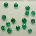 Zásnubní prsten se smaragdem - záloha