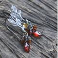 Daragh: Dubové podzimní náušnice Ag 925/1000