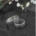 Dubové snubní prsteny Ag 925/1000 CENA ZA PÁR!