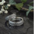 Keltské snubní prsteny Ag 925/1000 CENA ZA PÁR!